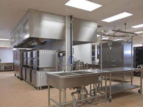 厨房设备厂在设计商用厨房照明系统要遵守哪些原则?