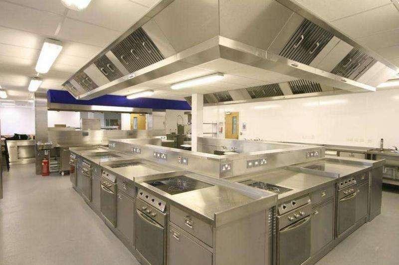 开放式餐厅厨房