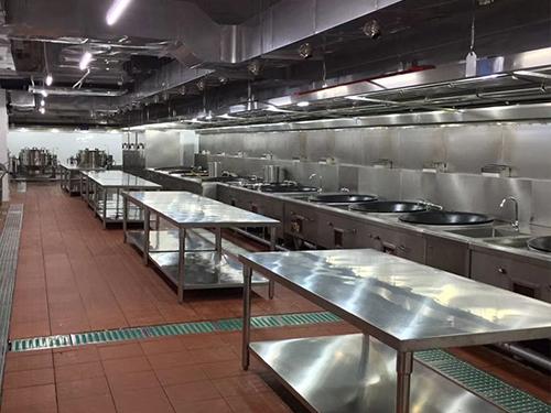 酒店厨具设备的规划应以流程合理、便利有用、节约劳作