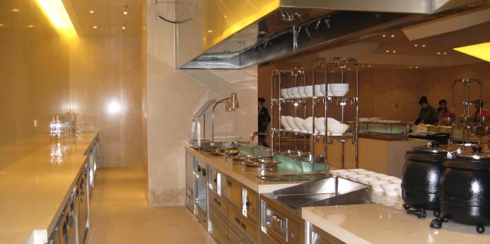吉林国际大酒店厨房工程