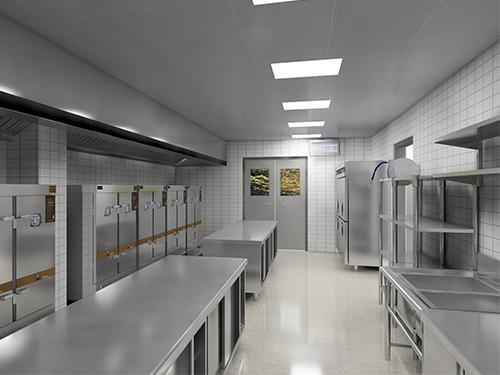 商用厨房设备配置中该如何选择工作台才好!