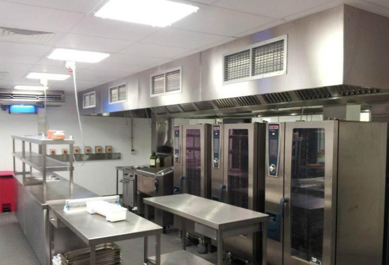 马克西姆餐厅厨房工程