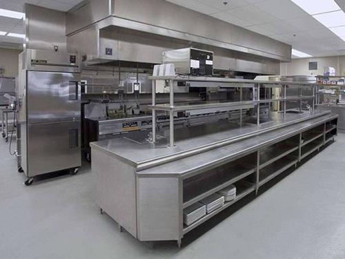 酒店厨房设备安装施工工艺流程介绍
