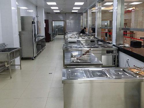 食堂厨房设备工作量大有哪些部件容易损坏呢?
