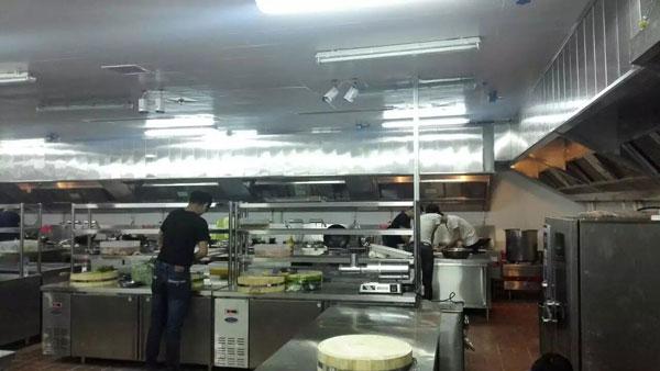 厦门温德姆和平国际大酒店厨房工程