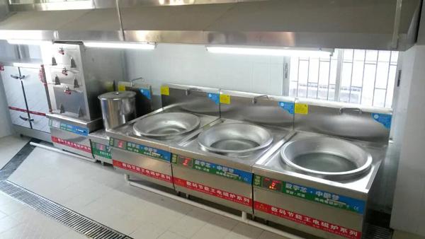 吉林财经大学食堂厨房设备