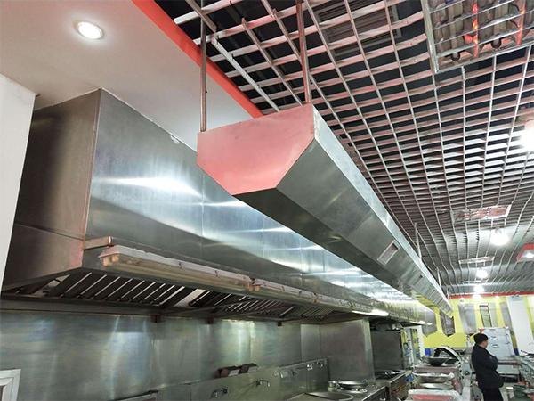 厨房油烟系统中管道应该如何设置才合理