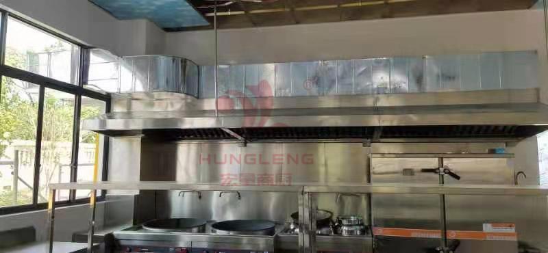可歆服装公司携手宏量商厨为员工提供更加优质的食堂厨房