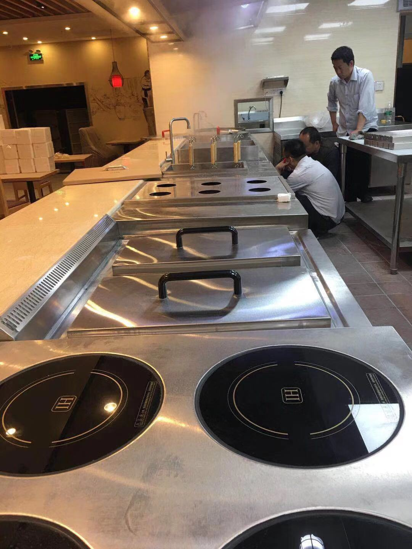 食堂厨房设备,平头炉