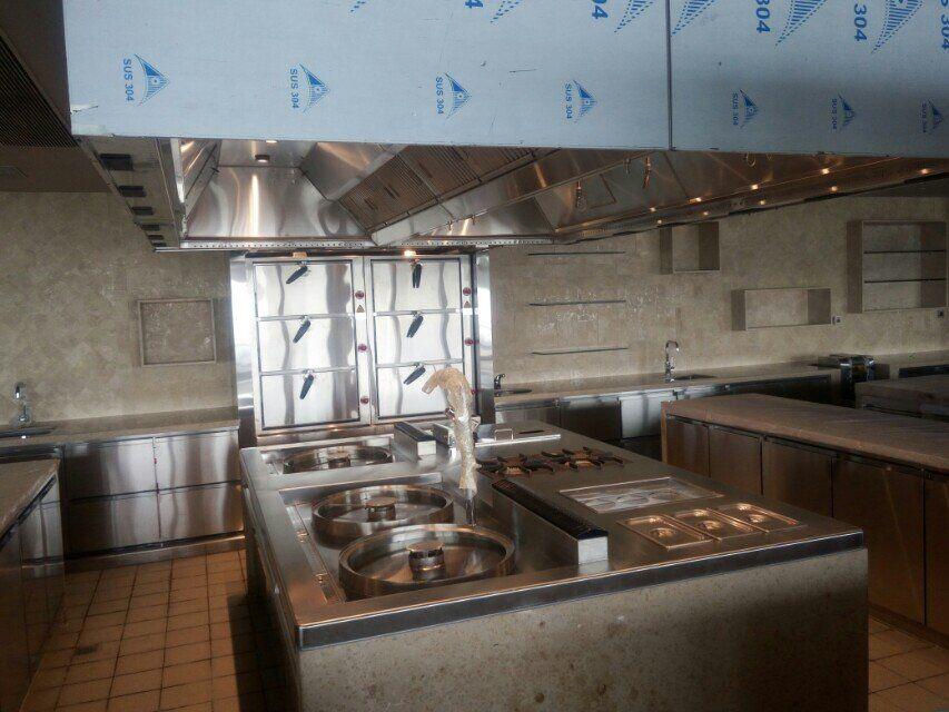 法國佐客牛排西餐廳廚房工程