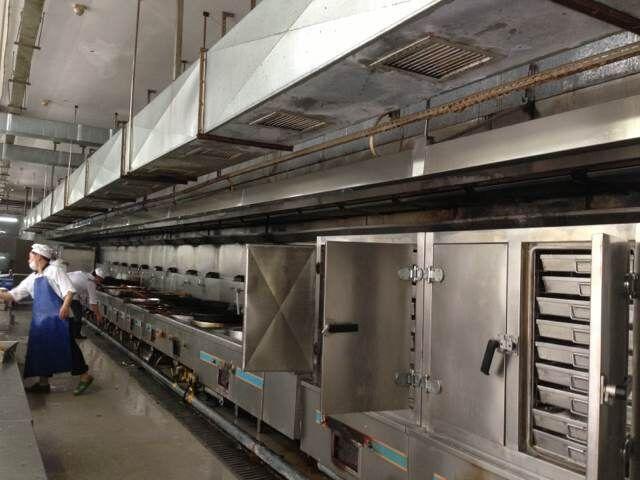 湖南信息职业技术学院食堂厨房工程